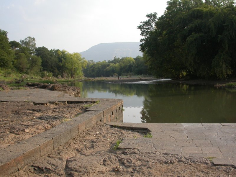 View of the river Krishna